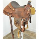 "Used 15"" Coolhorse by Cactus Trophy Team Roping Saddle Code: U15CHTRWRRR2008"
