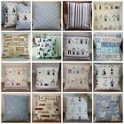 NAUTICAL SEASIDE BOATS, BEACH HUTS CUSHIONS COVERS ETC VARIOUS STYLES & SIZES