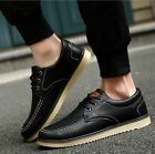 New Men's leather Shoes Fashion Breathable Casual shoes Sneakers Hot
