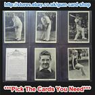 ☆ Wills - British Sporting Personalities 1937 (G) ***Pick The Cards You Need***