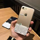 Cute Green frog keyboard Transparent Shockproof Soft Case For iPhone7 6 6S plus