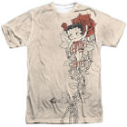 Betty Boop THORN BOOP 1-Sided Sublimated Big Print Poly T-Shirt $34.02 CAD