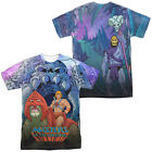 He-Man Battle Cat PROTECTING GRAYSKULL 2-Sided All Over Print Poly T-Shirt