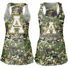 Appalachian State Mountaineers Women's Camo Cover-Up Burnout Tank Top - College