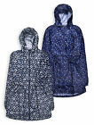 Ladies Parka Jacket New Womens Printed Anorak Lightweight Hooded Coat UK 8-22