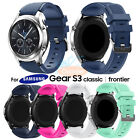 22mm Soft Silicone Bracelet Band Strap For Samsung Gear S3 Frontier/Classic New