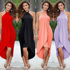 Women Summer Boho Long Maxi Dress Evening Cocktail Party Beach Dress Banquet Hot