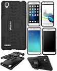 AMZER Shockproof Dual Layer Hybrid Warrior Rugged Case Stand For OPPO Models