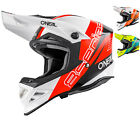 Oneal 8 Series Nano Motocross Helmet Lightweight Fibreglass MX Crash Lid DOT ECE