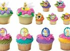 Disney Tinkerbell Fairies Cupcake Rings Party Favors Cake Toppers Decorations