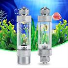 Silver Aquarium CO2 Atomizer System Diffuser For Plants Tank With Bubble Counter