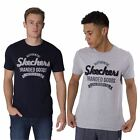 Skechers Mens T Shirt Graphic Printed Short Sleeve Crew Neck Sports Tee Top