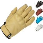 Spada Wyatt Leather Motorcycle Cruiser Gloves Motorbike Bike Summer GhostBikes