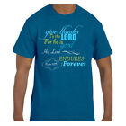 Christian Jesus tshirt Give Thanks to the Lord For He Is Good His Love Endures