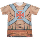 HE-MAN COSTUME 1-Sided Sublimated Big Print Poly Cotton T-Shirt