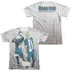 Quantum & Woody BROS 2-Sided Sublimated All Over Print Poly Cotton T-Shirt
