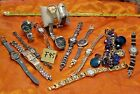 15 WOMANS WATCHES, STUDIO , STRADA, K.COLE, WRANGLER, AND MORE ALL ARE WORK F95