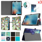 """For Apple iPad Pro 9.7"""" Folio Magnetic Smart Cover Stand Case + Screen Protector"""