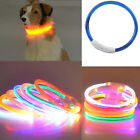 Hot Sale Pet Dog Cat Rechargeable USB Waterproof LED Flashing Light Band Collar
