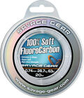 SAVAGE GEAR Soft Fluoro Carbon 0,17mm - 1,00mm / 100% Fluocarbon Fluo Carbon