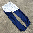 Vtg 80s 90s High School Basketball Game Used Track Tare away Break Button Pants