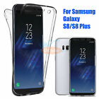 For Samsung Galaxy S8/S8 Plus Full Body Crystal Clear TPU Cover Case S7 Edge