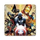 Marvel Super Heroes 1 - Oversized Rubber Coasters Set of 4 or 6