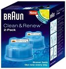 Braun Clean & Renew System Cartridges Refills CCR3 Series 3 5 7 9 Shaver, ALL PK