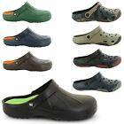 MENS COOLERS GARDEN WORK KITCHEN SUMMER BEACH MULES CLOGS WETLANDS SHOES