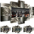 Framed Canvas Art Print Modern Large Wall Home Decor New York Abstract Picture
