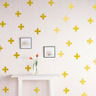 1set Multicolor Removable Home Cross Symbols Wall Stickers Art Room Decoration