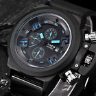 USA Mens Watch Luxury Sports Analog Quartz Digital Waterproof Wrist Watches