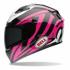 Bell Qualifier DLX Impulse Pink Motorcycle Helmet TRANSITIONS ADAPTIVE SHIELD