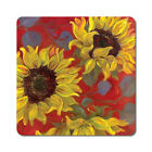 Sunflower 2 - Oversized Rubber Coasters Set of 4 or 6