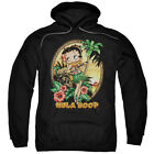 Betty Boop HULA BOOP II Palm Trees Ukulele Island Licensed Sweatshirt Hoodie $57.07 USD on eBay