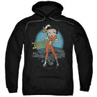 Betty Boop FRIES WITH THAT SHAKE? Waitress Licensed Sweatshirt Hoodie $41.71 USD