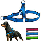 Nylon Anti Pull Dog Harness Front Leading Vest No Choke for Small to X-Large Dog