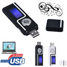 Portable Usb Digital Mp3 Music Player Lcd Screen Support 16gb Tf Card