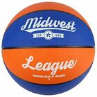 Best Basketballs - Midwest Orange & Blue League Basketball Indoor Review