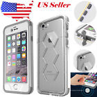For Apple iPhone 6 6S Plus US FAVOLCANO Waterproof Shockproof Crystal Case Cover
