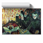 Poster Various Sizes Edvard Munch By the Deathbed