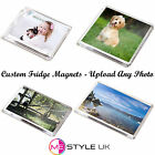 Personalised Photo Fridge Magnets - Upload Any Photo - Choice of Sizes