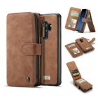 For Galaxy S9/S8/Plus/Note 8 Leather Removable Wallet Magnetic Flip Card Case <br/> New Samsung GALAXY S9/Plus ,USA SHIPMENT WITH TRACKING!