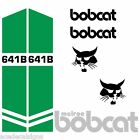 Bobcat 641 641B DECALS Stickers Skid Steer loader New Repro decal Kit