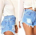 Fashion Women Summer High Waist Denim Jeans Beach Pants Hot Casual Short Shorts