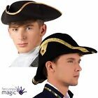 *Naval Captain Sailor Seaman Bicorne Regency Hat Fancy Dress Costume Accessory*