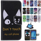 N ew Magnetic Flip PU Leather Pattern Wallet Stand Cover Case For Samsung Galaxy