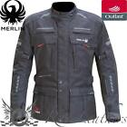 MERLIN PEAKE OUTLAST BLACK WATERPROOF MOTORCYCLE MOTORBIKE EVERYDAY JACKET