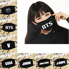 Boys&Girls Fashion Cotton Mouth Face Mask Cute Anti-Dust Kpop BTS Fans Mask Gift