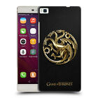 OFFICIAL HBO GAME OF THRONES EMBOSSED SIGILS HARD BACK CASE FOR HUAWEI PHONES 1